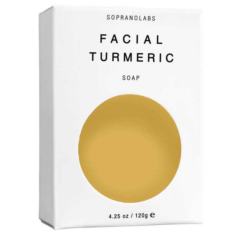 Facial Turmeric Vegan Soap SPA Gift for him/her