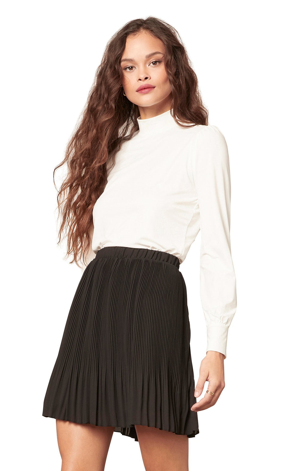 Life Com-Pleated Skirt
