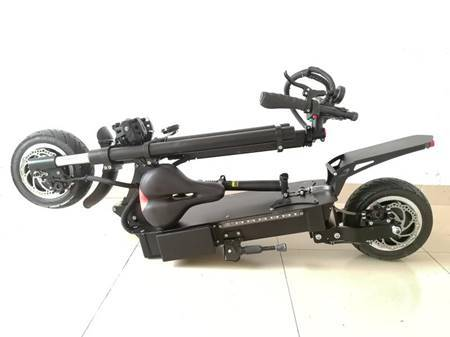 F&F 12 inch Dual motor Scooter AS121 Foldable 1600W 60V Motor with 2 Remote Control