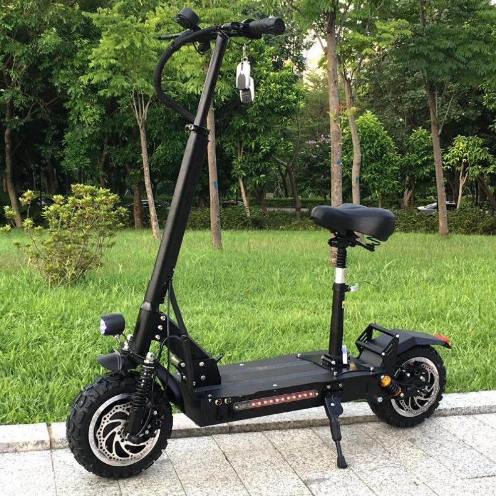 Fast Electric Scooter >> F F Fast Powerful Pro Off Road Electric Scooter 60v 3200w 26ah Free Shipping