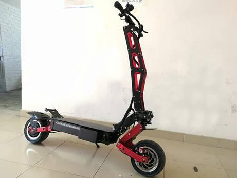 F&F 12 inch Dual motor Scooter AS120 Foldable 1600W 60V Motor with 2 Remote Control