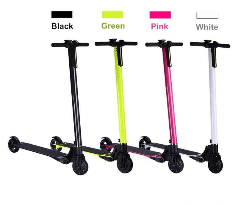 F&F 5.5 inch Aluminum Alloy Scooter-AS56 250W with EABS Microelectronic Control Braking System