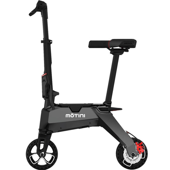 F&F Motini Nano 36v 250w Lithium Electric Scooter Black