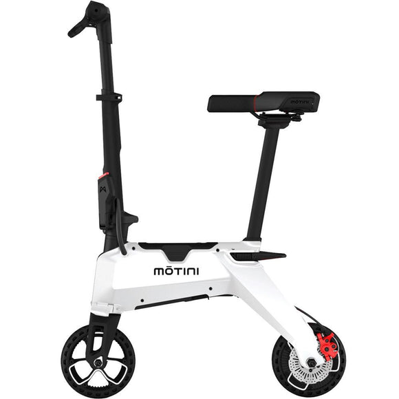 F&F Motini Nano 36v 250w Lithium Electric Scooter White