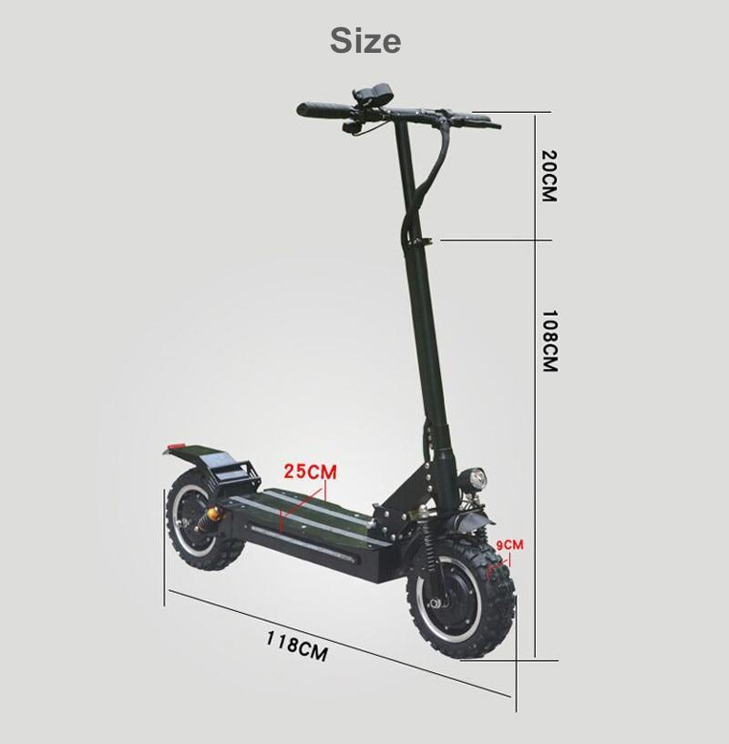 F&F F32 3200W 60V Powerful Fast All Terrain Electric Scooter