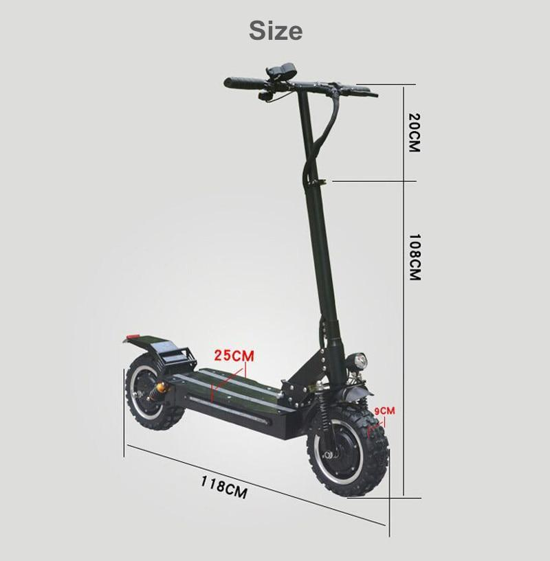 F&F F32 3200W Powerful Fast Off and On Road Electric Scooter 60V
