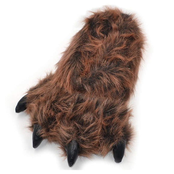 Funny Bear Paws Slippers