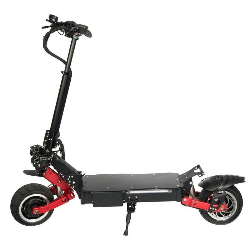 NANROBOT High Quality Adult RS7 11 inch 60V Folding Dual Motor 1600W Monopattino Electric Scooter