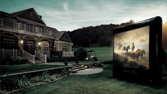Home Outdoor Cinema Projector Screen