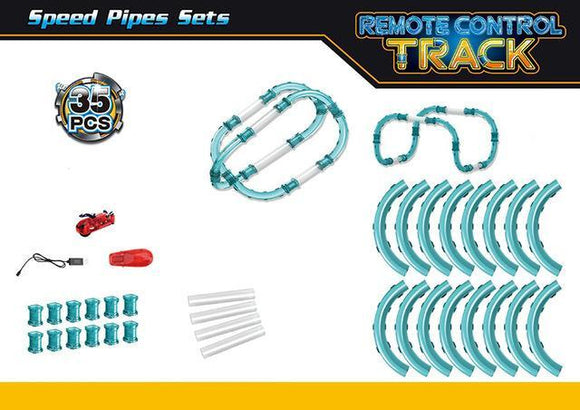 Pipes Speed Track + RC Cars