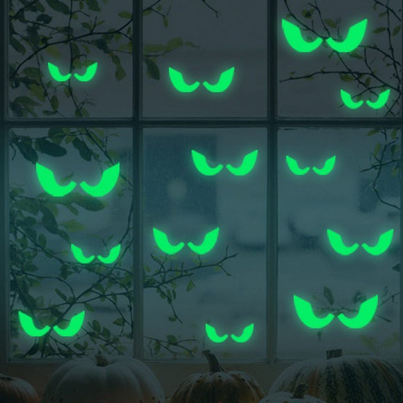 18-Piece Set Luminous Sticker Decoration