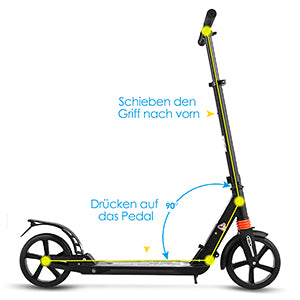 ANCHEER Pro Stunt Scooter with Stable Performance Freestyle Trick Extreme Scooter Apex Scooter for Adult Youth Teen Kids Age 7 Up, Support 100KG