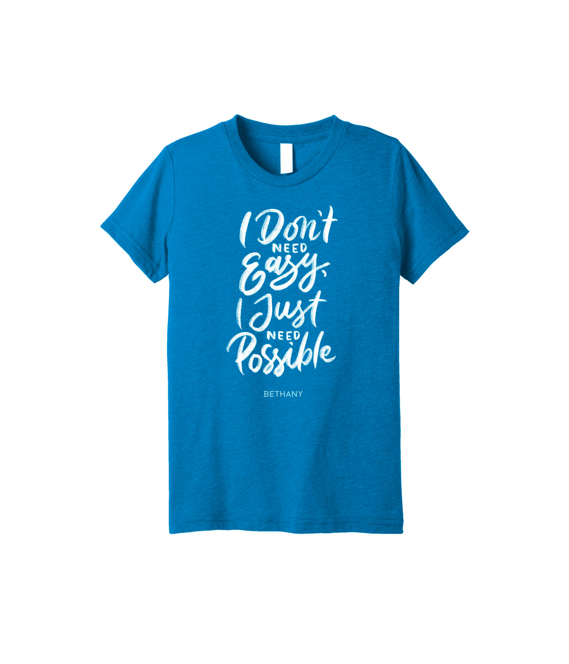 I Don't Need Easy T-shirt