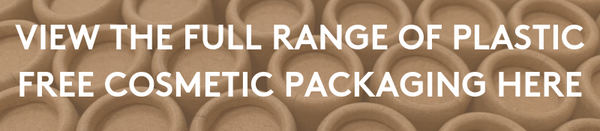 Plastic Free Cardboard Cosmetic Lip Balm Packaging 14ml