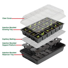 Load image into Gallery viewer, Garland 12 or 24-Cell Self-Watering Full Size Seed Propagator 7 days watering