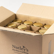 Load image into Gallery viewer, Nutley's 8oz Hexagonal Jam Jars In Box