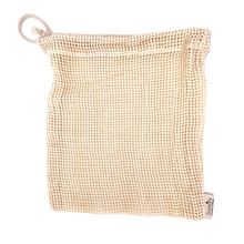 Load image into Gallery viewer, Nutley's Small Cotton Vegetable Mesh Bag