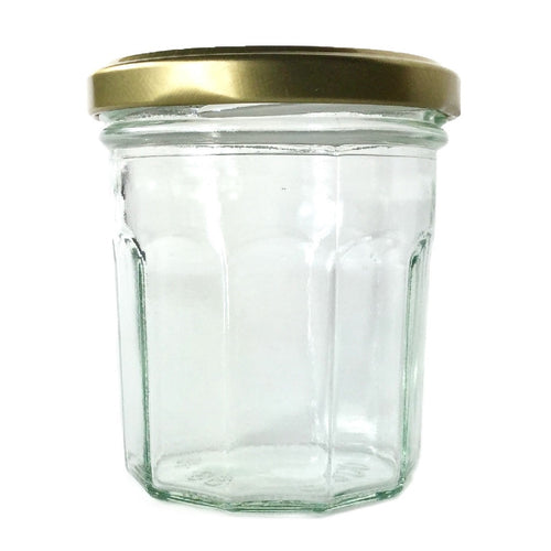 200ml Wide Mouth Jam Jar Glass Bonne Maman Chutney Marmalade 7oz Small Jars