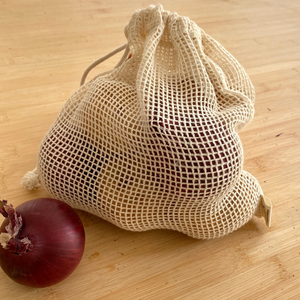 Nutley's Small Cotton Vegetable Mesh Bag