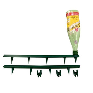 Grow Bag Growtube + cane supports: Conserves water & directs straight to roots