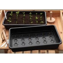 Load image into Gallery viewer, Garland Full-Size Seed Tray: Select Drainage Holes