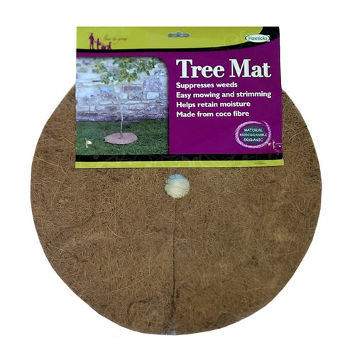 Haxnicks Tree Mat 40cm Biodegradable Mulch Mat Protect Young Trees Pack of 3