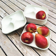 Load image into Gallery viewer, Nutley's apple tray 4-hole biodegradable compostable fruit storage harvest pears crops