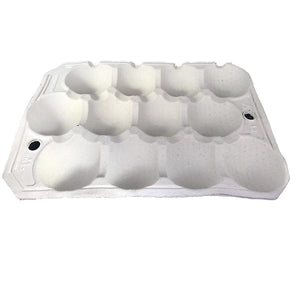 Nutley's Fibre Biodegradable Apple Tray 12-hole Compostable Fruit Storage Harvest