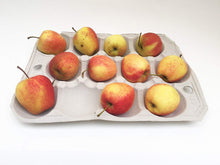 Load image into Gallery viewer, Nutley's Fibre Biodegradable Apple Tray 12-hole Compostable Fruit Storage Harvest