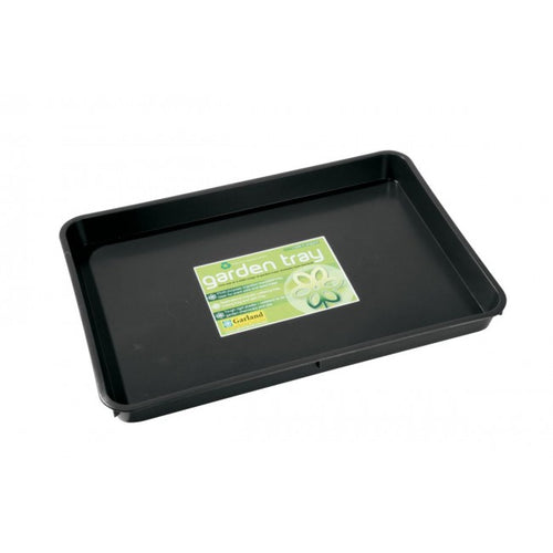 Garland Standard Garden Tray Green Black 9 litres, various quantities