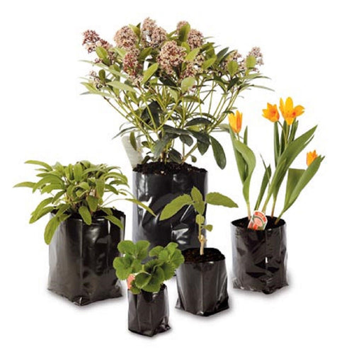 Nutley's Reusable Polypots Polythene Plant Pots: Select Capacity and Pack Quantity