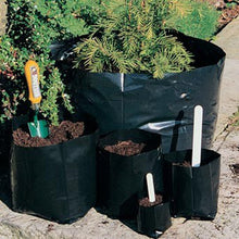 Load image into Gallery viewer, Nutley's Reusable Polypots Polythene Plant Pots: Select Capacity and Pack Quantity