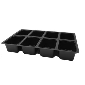 Nutley's 8 Cell Seed Tray Cavity Inserts UK made 100% recycled plastic