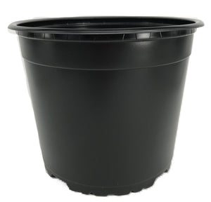 Nutley's Round Modiform 19cm Plastic Plant Pots 3 litres potting on sowing garden allotment large plastic plant pot