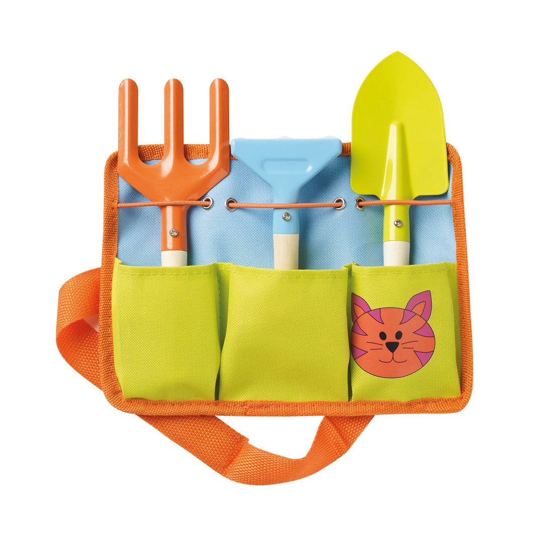 Briers Children's Tool Belt Gardening Outdoors Gift Hand Trowel Spade Fork