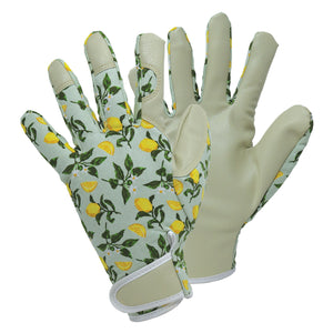 Briers Sicilian Lemon Lady Gardener Gloves Classic Comfort Outdoors Medium