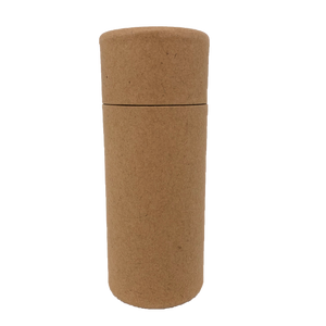 Nutley's 70ml Cardboard Deodorant Tubes Eco Friendly Cosmetic Fragrance 2.5oz Natural Recyclable Biodegradable