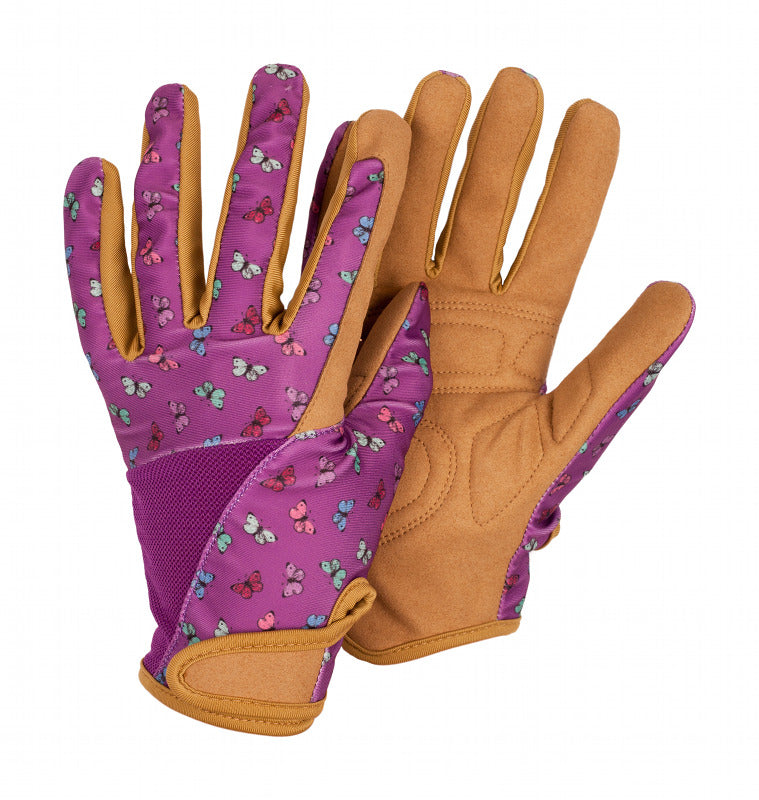 Briers Profession'elle' Purple Butterfly Gardening Gloves