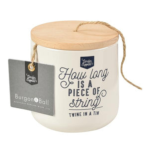 Burgon & Ball 120m Twine Dispenser Stone