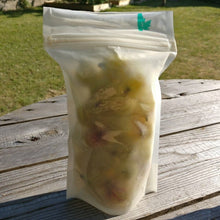 Load image into Gallery viewer, Nutley's 250ml 500ml Biodegradable Freezer Food Bags Pouches Sealable Reusable