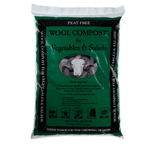 Load image into Gallery viewer, Dalefoot Wool Compost for Vegetables and Salads Peat Free 30 litres