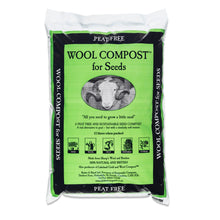 Load image into Gallery viewer, Dalefoot fine wool seed compost peat free nutrient rich from Lake District 12 litre bags Peat Free Compost