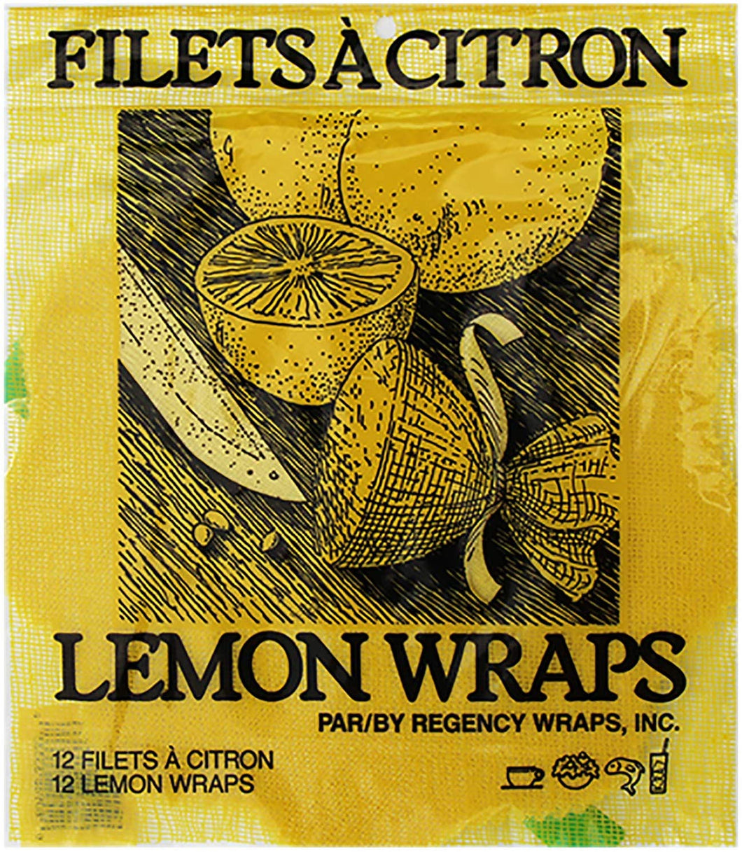 Eddingtons Lemon Wraps With Ribbons (Pack of 12)