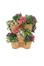 Load image into Gallery viewer, Elho Green Basics Vertical Garden Herbs Flowers Strawberries Recycled