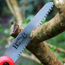 Load image into Gallery viewer, Burgon & Ball Folding Pruning Saw RHS Endorsed Patented Tooth Design