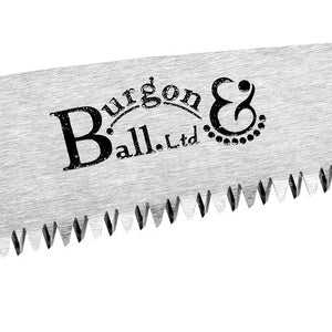 Burgon & Ball Folding Pruning Saw RHS Endorsed Patented Tooth Design