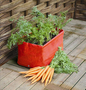 Haxnicks Carrot Patio Planter Growbags (Pack of 2)
