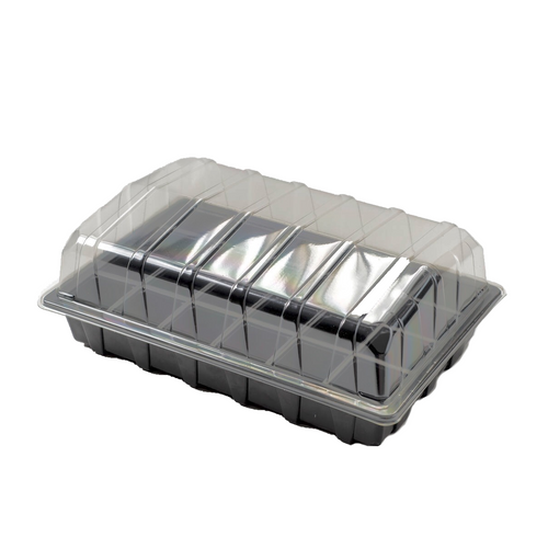 Nutley's 24 Cell Full Size Seed Propagator Set: Select Drainage Holes and Pack Quantity