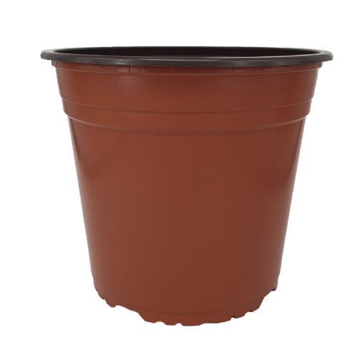 Nutley's 22cm 5 Litre Round Plastic Plant Pot: Select Quantity and Colour