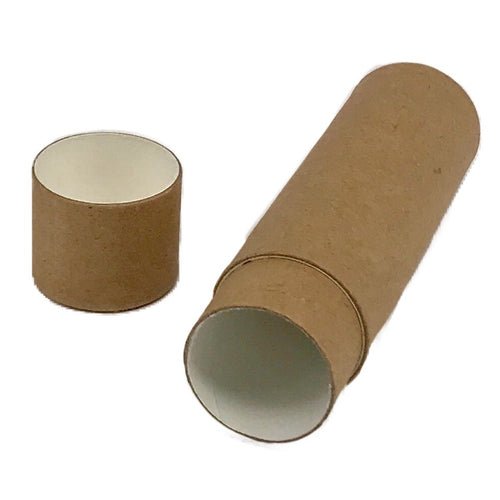 Nutley's Cardboard Lip Balm Tubes Biodegradable Organic Natural Recyclable 1oz 28ml